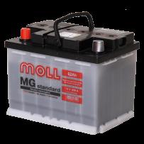 аккумулятор автомобильный Moll Standart 62 R+ 62 Ач 600 А