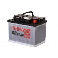 аккумулятор автомобильный Moll Standart 55 R+ 55 Ач 490 А