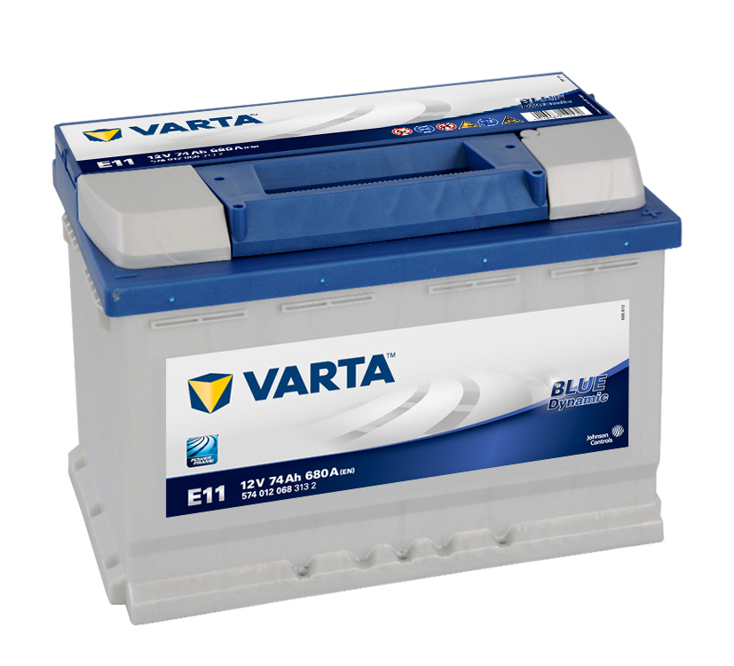 Varta Blue Dynamic E11 6СТ-74
