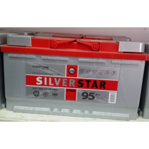 SILVERSTAR HYBRID 95 Ah R+