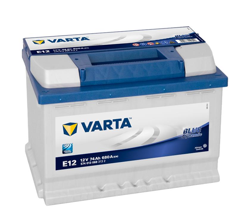 Varta Blue Dynamic E12 6СТ-74