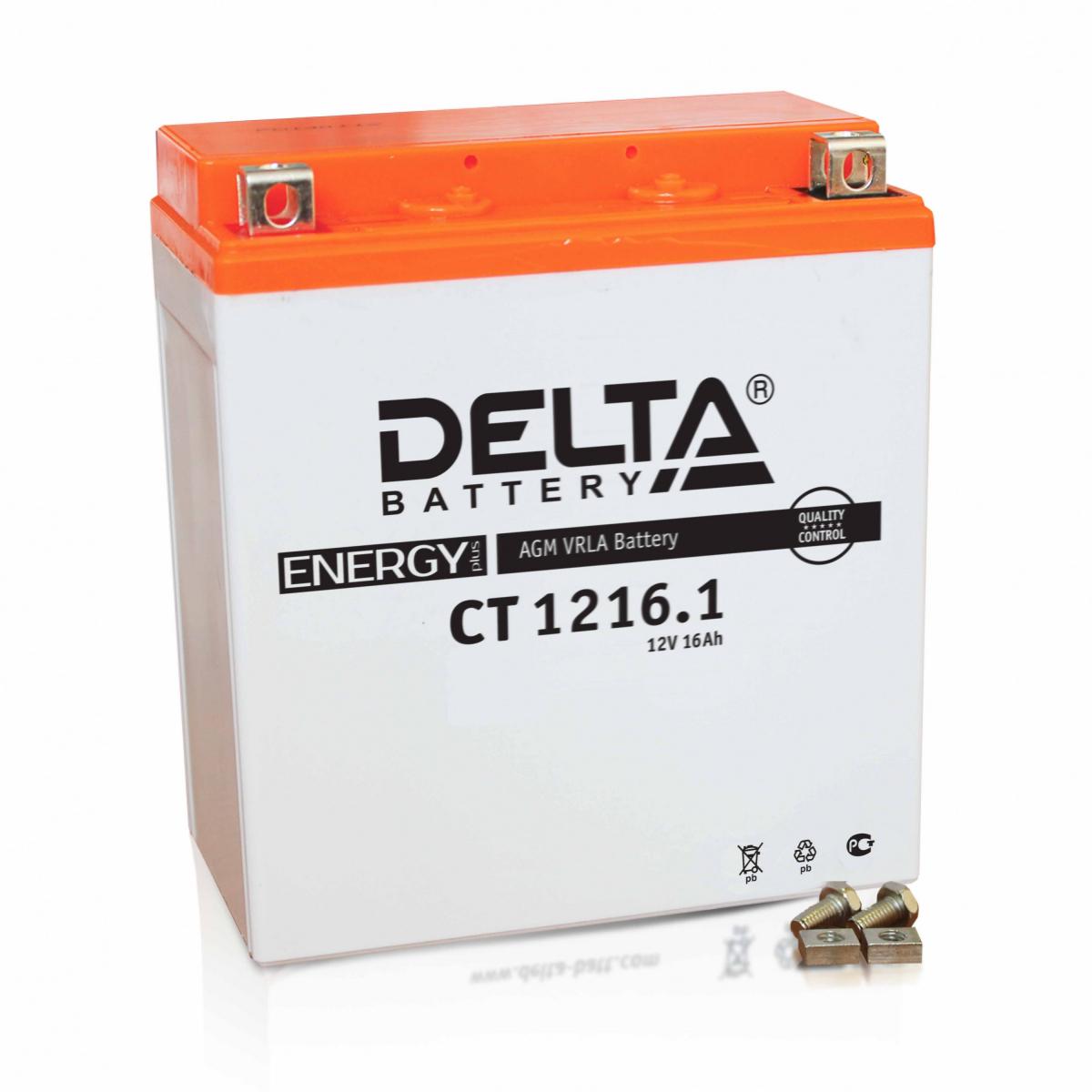 DELTA CT1216.1 (YTX16-BS, YB16B-A )