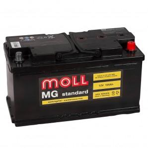 аккумулятор автомобильный Moll Standart 105 R+ 105 Ач 920 А