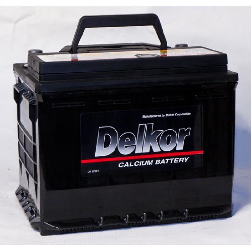 аккумулятор автомобильный DELKOR 6СТ-74 L+ 57413