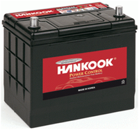 аккумулятор автомобильный HANKOOK 6СТ-65 R+ (75D23L)