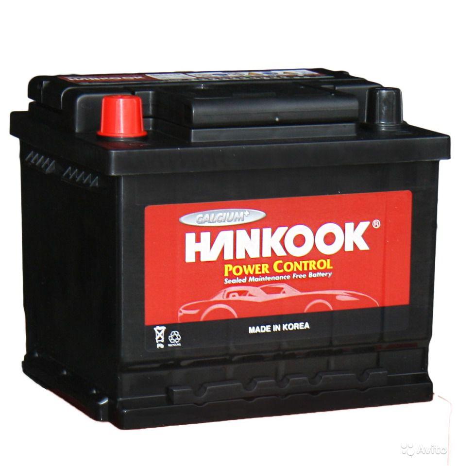 аккумулятор автомобильный HANKOOK 6СТ-60 L+ (56031)