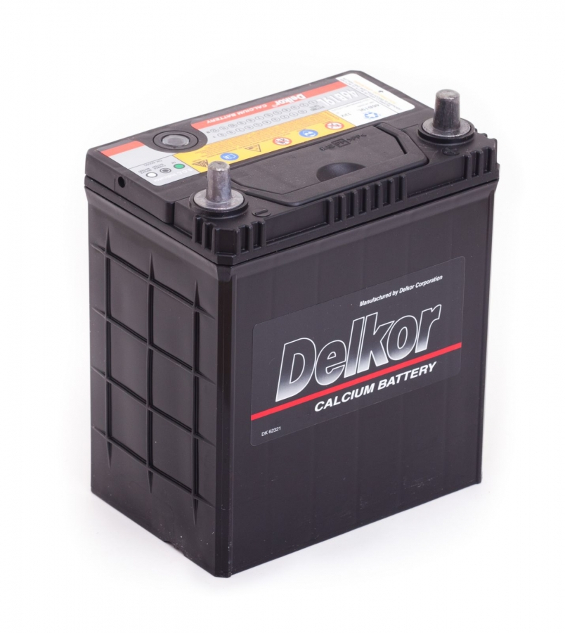 аккумулятор автомобильный DELKOR 6СТ-40 R+ 46B19L