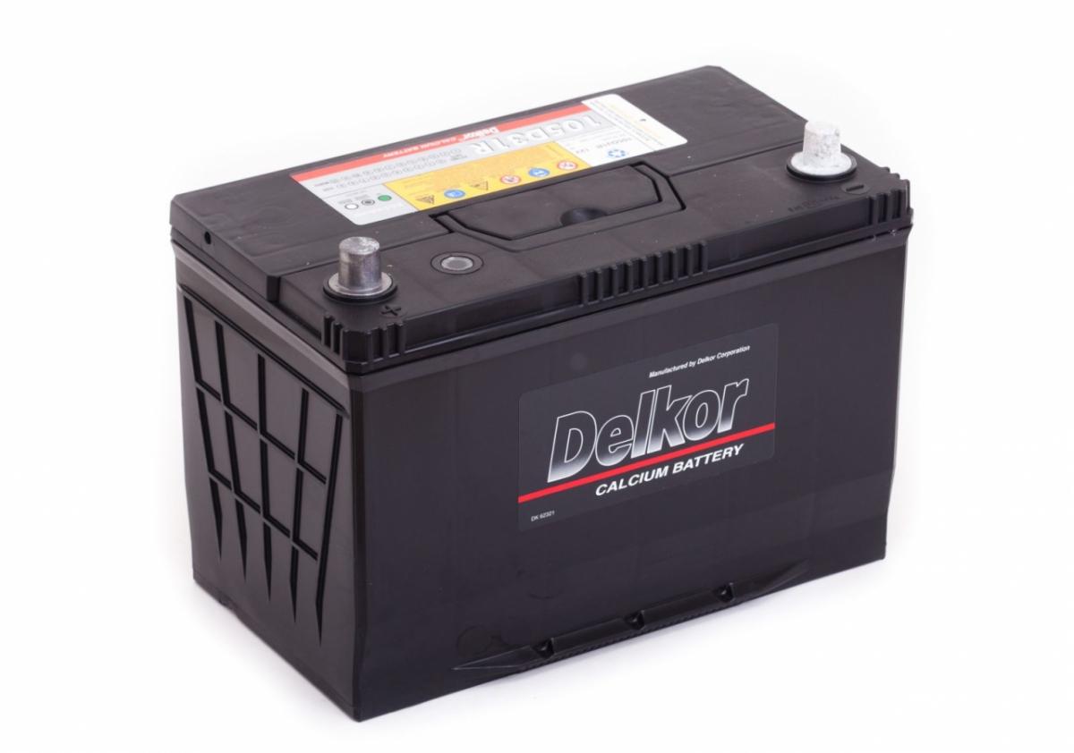 аккумулятор автомобильный  DELKOR 6СТ-90 L+ 105D31R
