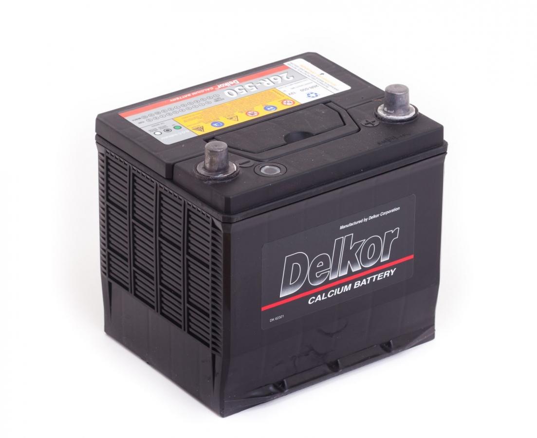 аккумулятор автомобильный DELKOR 6СТ-60R 50D20L