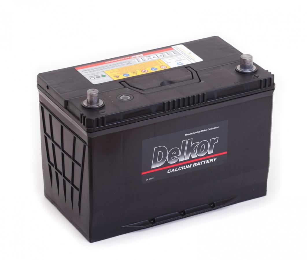 аккумулятор автомобильный DELKOR 6СТ-100 R+ (115D31L) 100 Ач 800 А