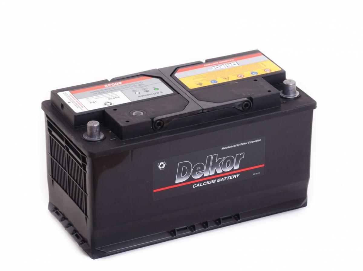 аккумулятор автомобильный DELKOR 6СТ-100 R+ 60038
