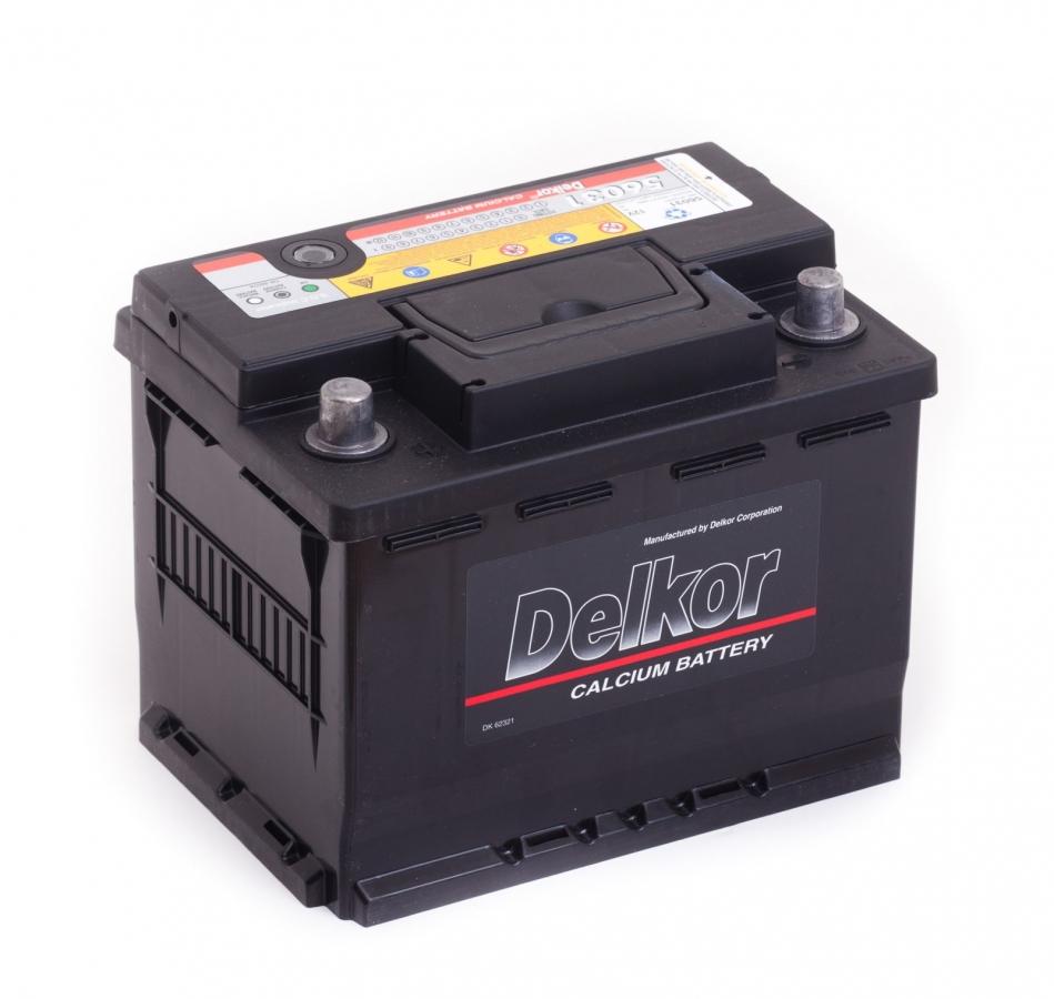 DELKOR 6СТ-62 L+ (56219)