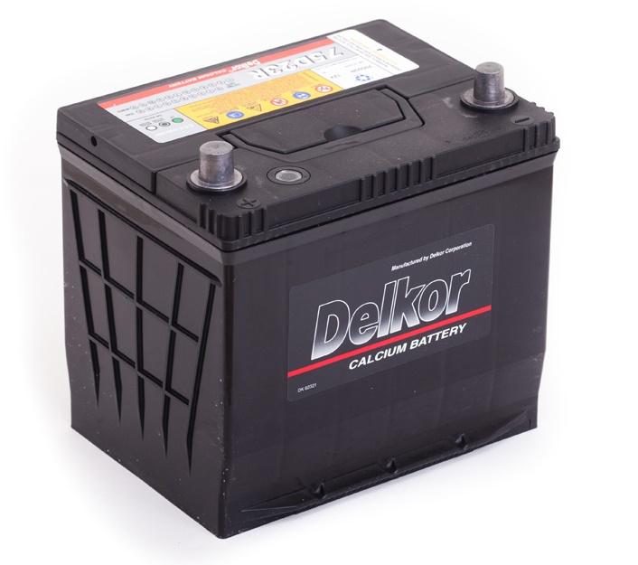 аккумулятор автомобильный DELKOR 6СТ-65 L+ 75D23R