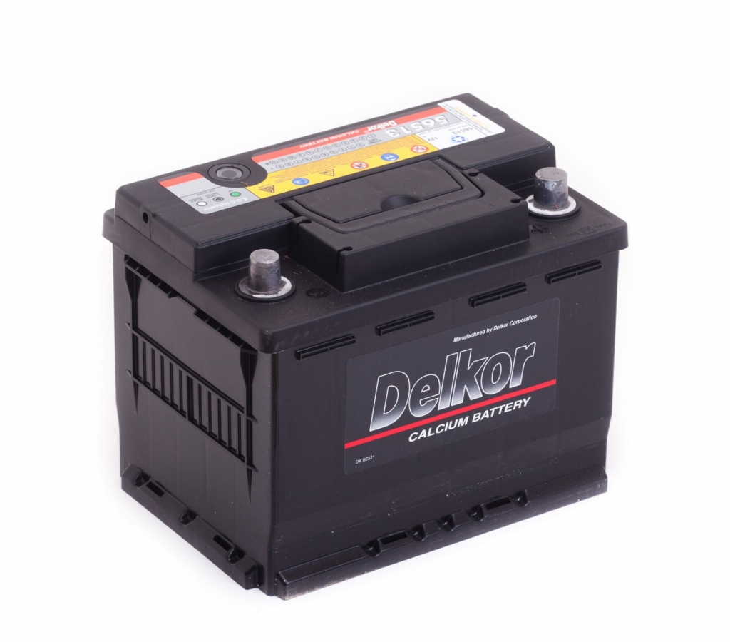 аккумулятор автомобильный DELKOR 6СТ-65 R+ 56513