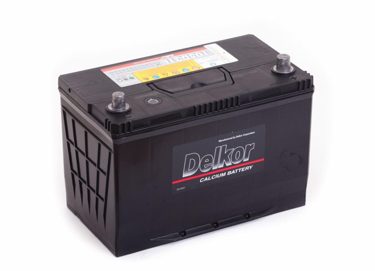 аккумулятор автомобильный DELKOR 6СТ-90 R+ 105D31L