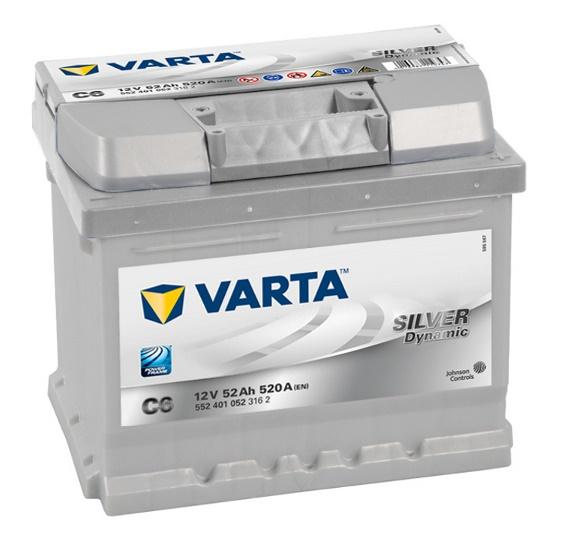 Varta Silver C6 52R