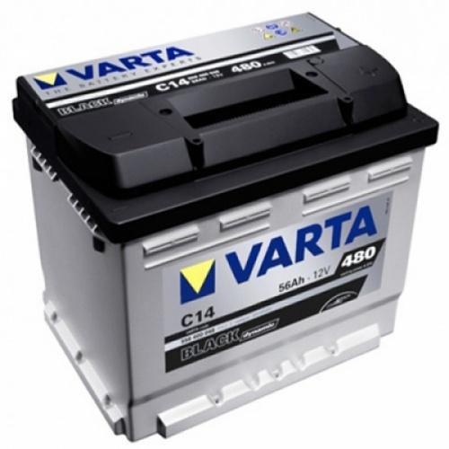аккумулятор автомобильный VARTA Black Dynamic C14 56 Ач