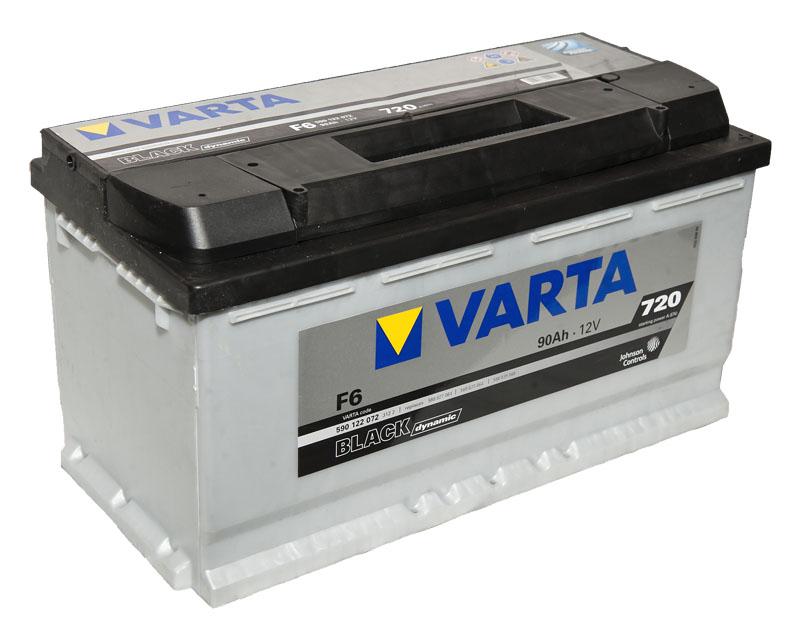 Varta Black Dynamic F6 90 А/ч
