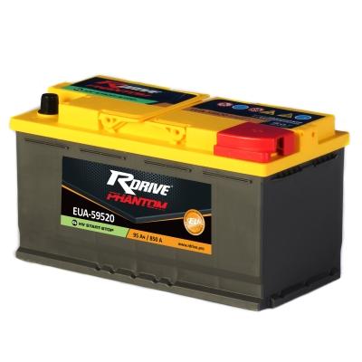 Аккумулятор RDrive  AGM START-STOP 95Ач R+