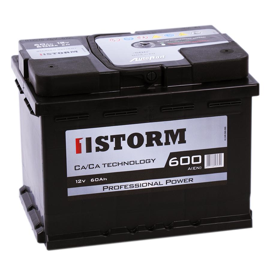 Аккумулятор автомобильный Storm 60R