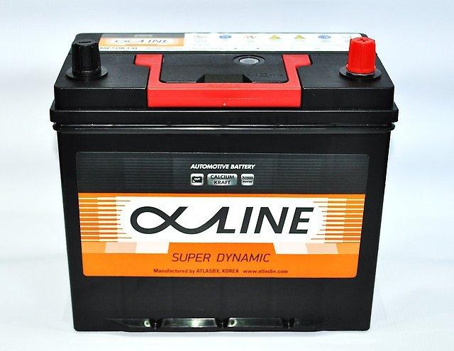 аккумулятор автомобильный ALPHALINE 46B19L 44 Ач 400 А