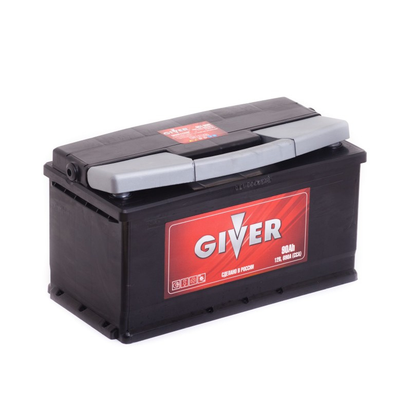 GIVER 6CT-90 90 А/ч 690 А