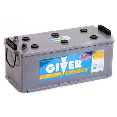 GIVER ENERGY 6СТ-190 R+