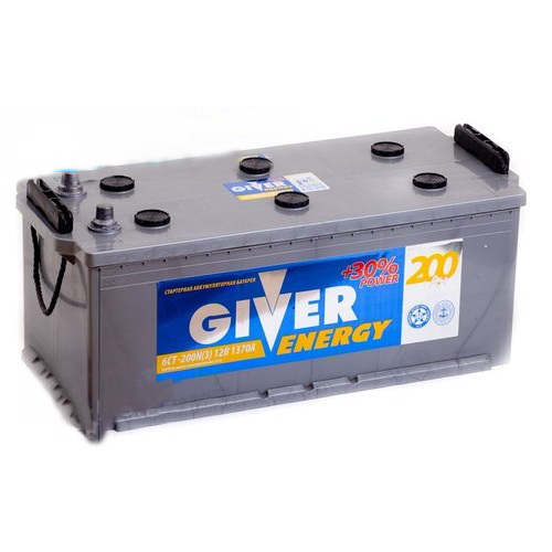 GIVER ENERGY 6СТ-200 (узкий рос. конус)