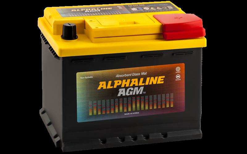 аккумулятор автомобильный ALPHALINE AGM START-STOP 60R