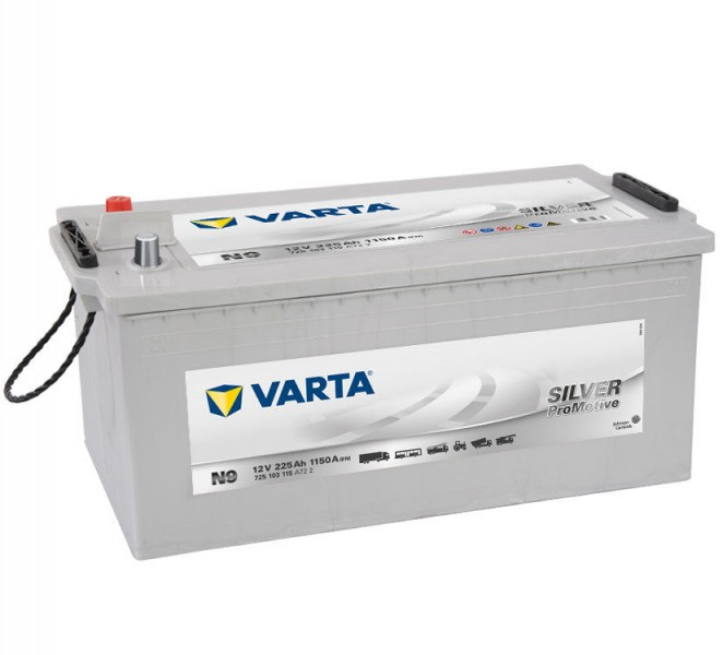 Varta Promotive SD 225Ah 1150A