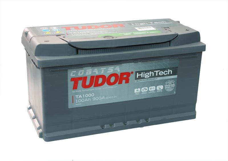 аккумулятор автомобильный TUDOR High-Tech 100Ah 900A (TA1000)