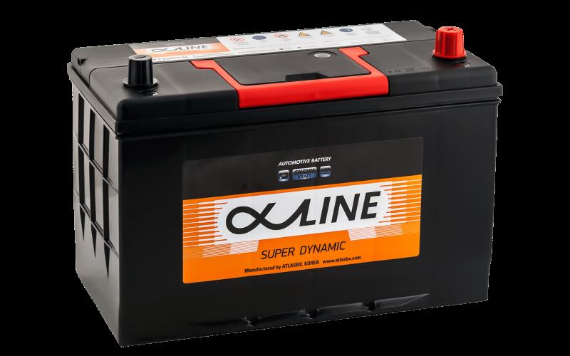 аккумулятор автомобильный ALPHALINE 125D33L 115Ah 900A