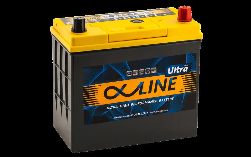 аккумулятор автомобильный ALPHALINE ULTRA 75B24LS 59Ah 550A