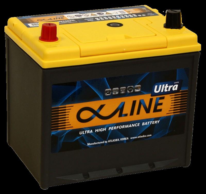аккумулятор автомобильный ALPHALINE ULTRA 95D23R 78Ah 750A
