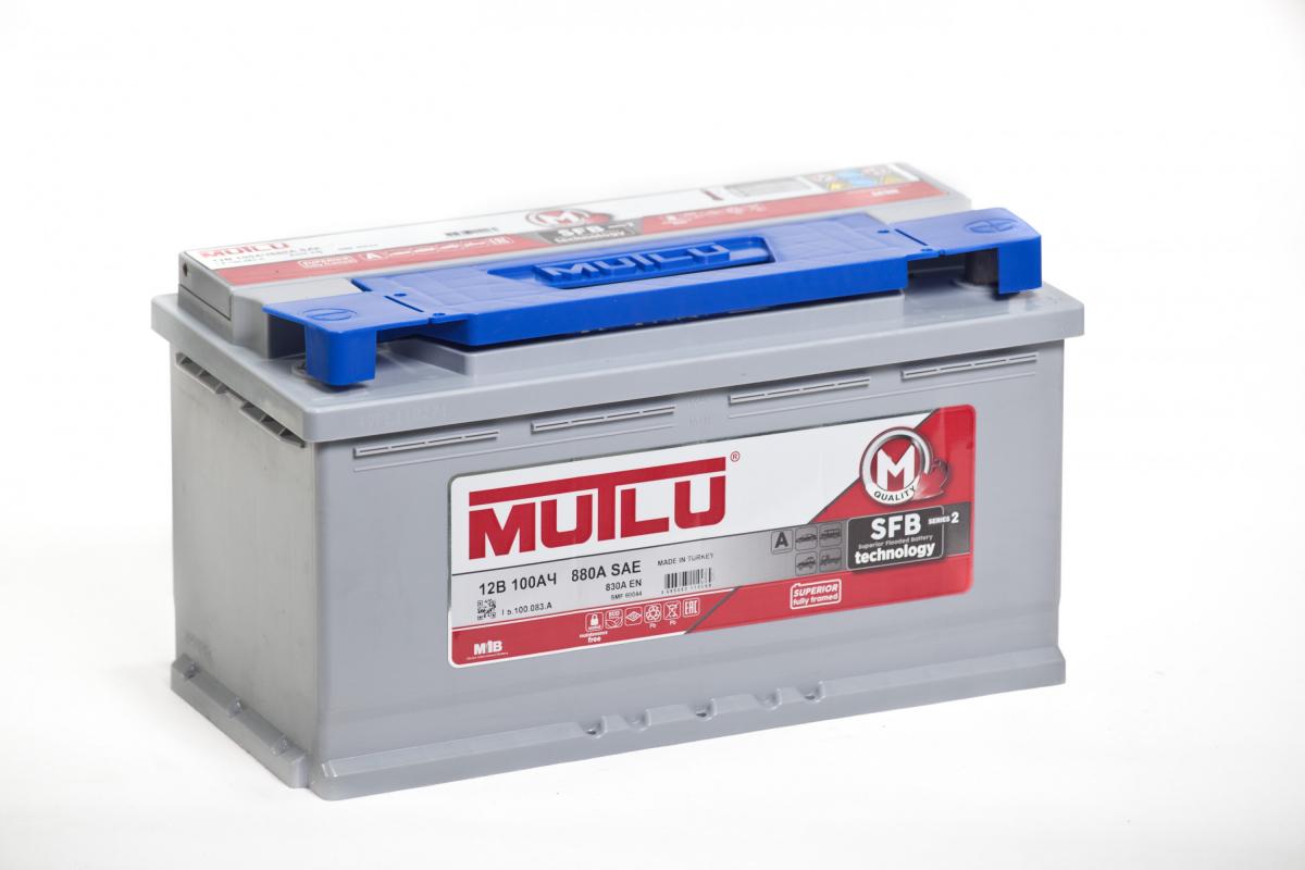 аккумулятор автомобильный Mutlu SFB M2 100 Ач 880 А