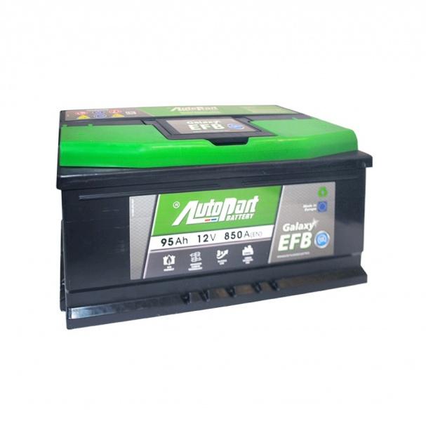 аккумулятор автомобильный AUTOPART Galaxy EFB 95SR 95 А/ч 850 А
