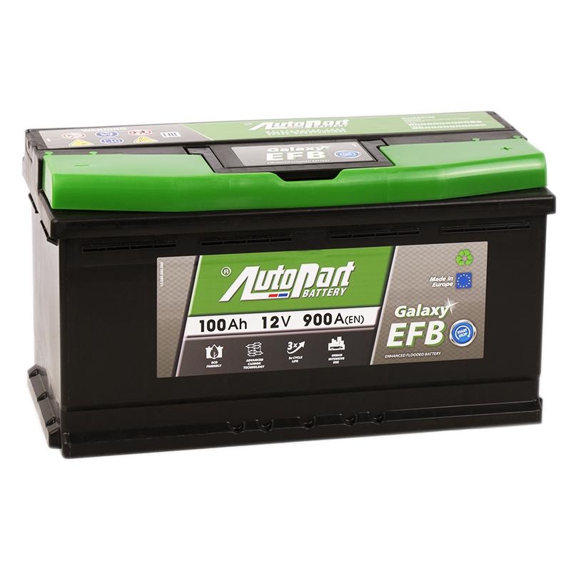 аккумулятор автомобильный AUTOPART Galaxy EFB 100R 100 А/ч 900 А