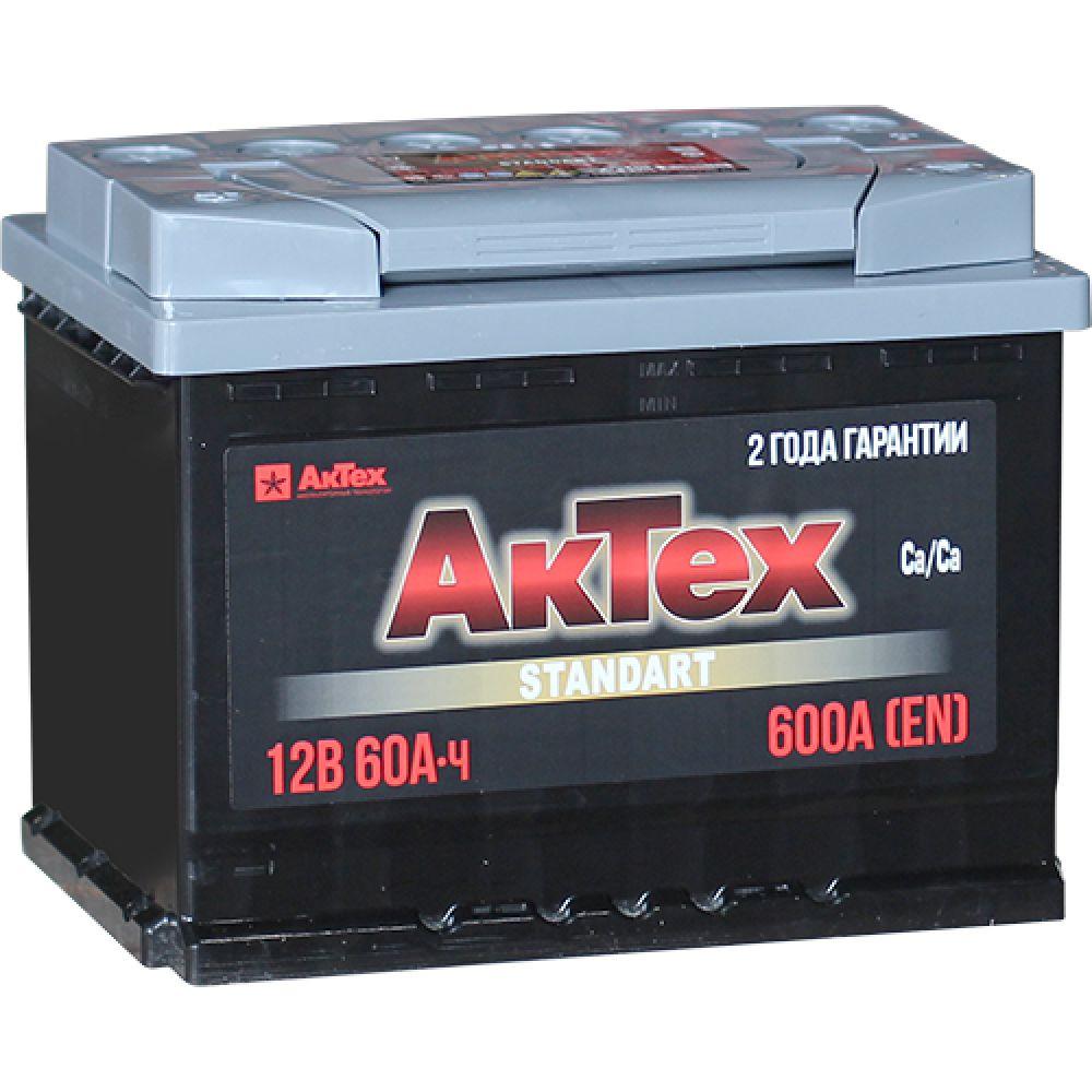 Аккумулятор АКТЕХ 60 А/ч ОБР  EN600