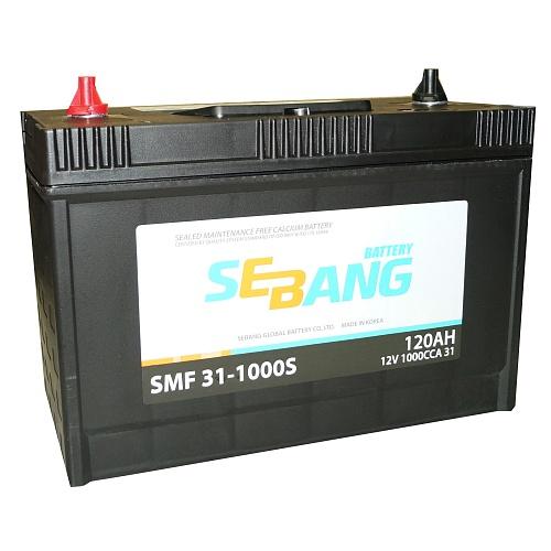 Аккумулятор SEBANG 120 А/ч SMF 311000S EN1000