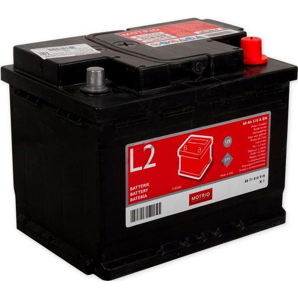 Аккумулятор MOTRIO 60 А/ч R+ EN 510A