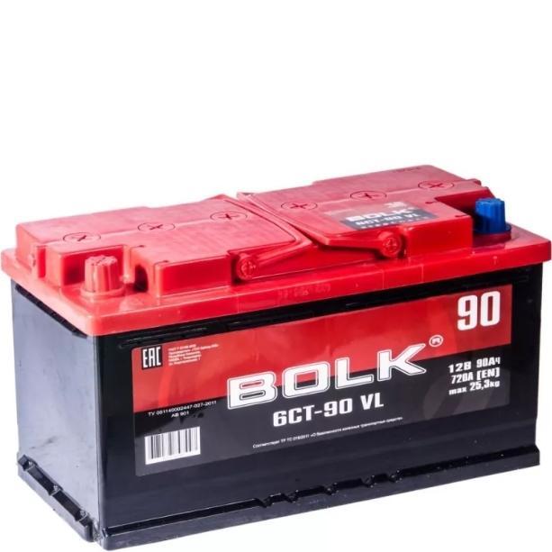 Аккумулятор BOLK 90 А/ч  EN720