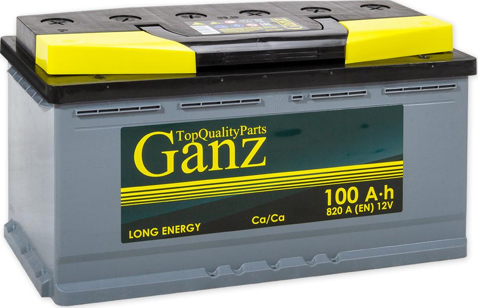 Аккумулятор GANZ 100 А/ч EN820