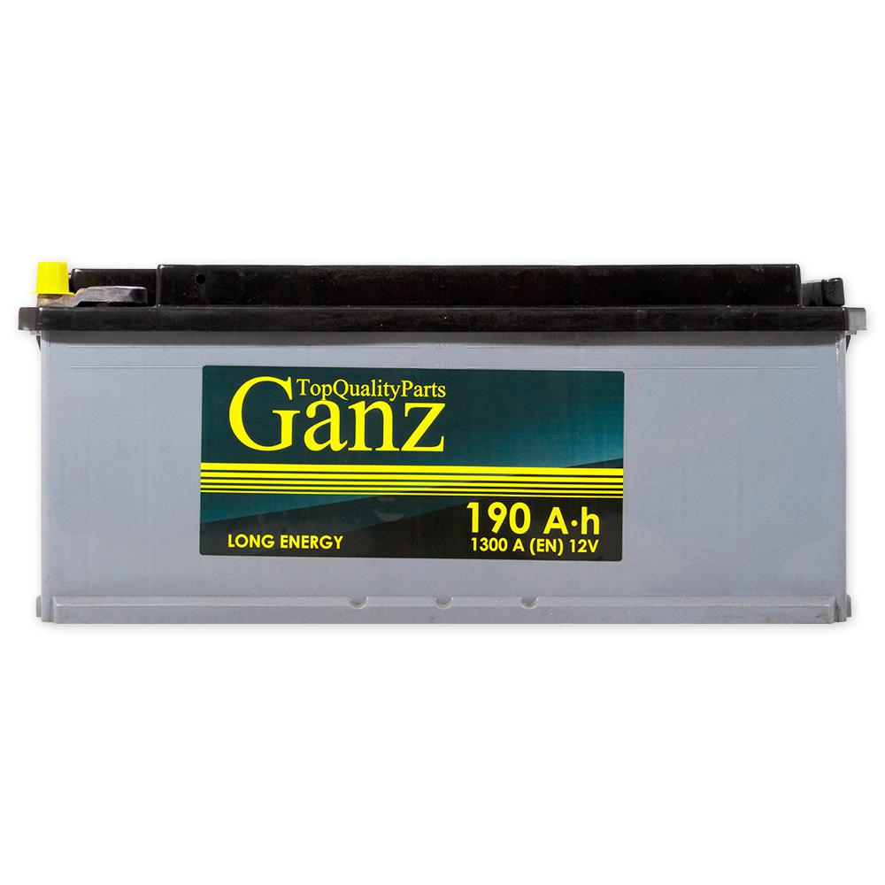 Аккумулятор GANZ 190.3 А/ч L+ EN1300