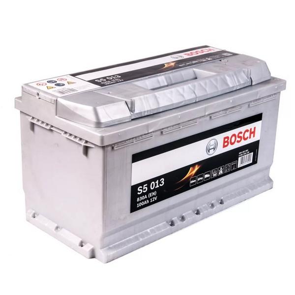 Аккумулятор BOSCH 100 А/ч S50 ОБР EN830