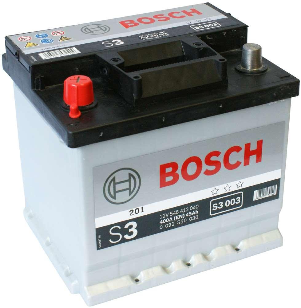 Аккумулятор BOSCH 45 А/ч S30 03  EN400 стд кл