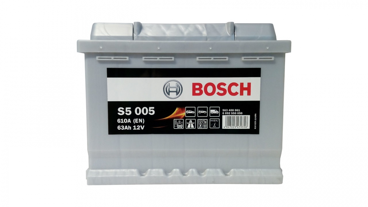 Аккумулятор BOSCH 63 А/ч S50 05 ОБР EN610