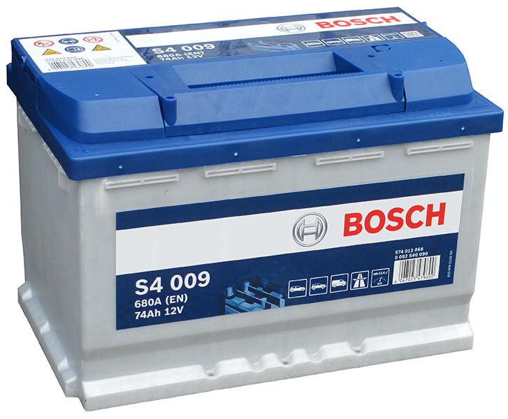 Аккумулятор BOSCH 74 А/ч S40 09  EN680