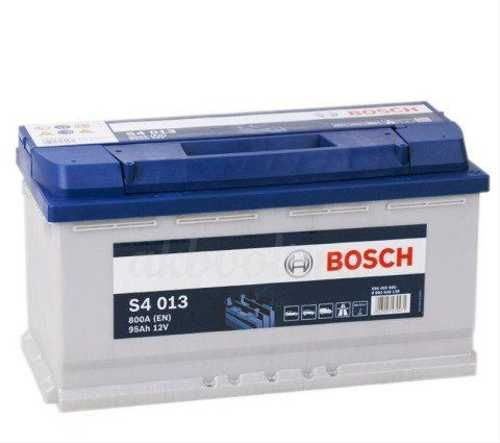 Аккумулятор BOSCH 95 А/ч S40 13 ОБР  EN800
