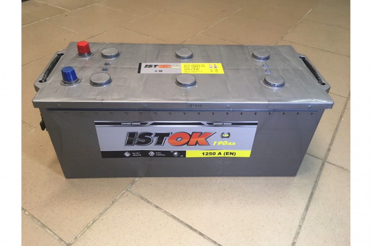Аккумулятор ИСТОК 190.3 А/ч L+  EN1200 EURO