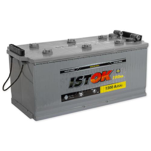 Аккумулятор ИСТОК 190.4 А/ч R+ EN1200 под болт